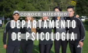 Departamento de psicología 2018