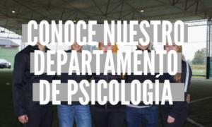 Departamento de psicología 2019-1