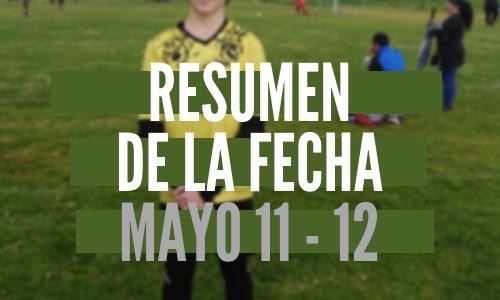 Resumen de la fecha Mayo 11 – 12