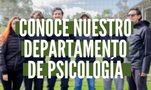 Departamento de psicología 2019-2